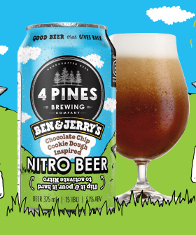 Ben & Jerry's & 4 Pines Drop Chocolate Chip Cookie Dough Ice-Cream Flavoured Beer