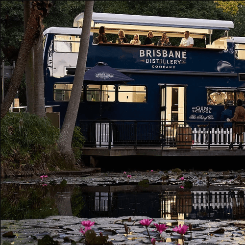 All Aboard! - A Double Decker Gin Bus Just Arrived In Brisbane!