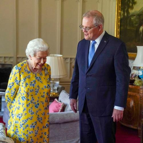 Scomo's Convo With The Queen Sounded Like He Gossiping With Her!