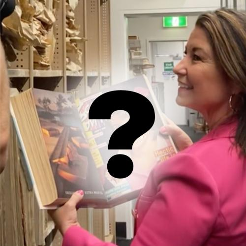You Won't Believe What Hidden Gem Loz Found During Her Visit To The Courier-Mail!