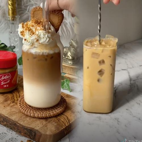 Everyone Is Frothing Over This Biscoff Iced Latte Or As We're Calling It, A 'Biscoffee'