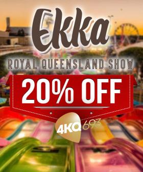 Here's How 4KQ Listeners Can Get 20% Off Their Ekka Tickets TODAY ONLY!