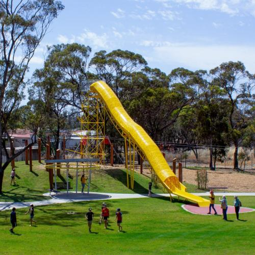Move Over Kids! - There Is Now A Giant Aussie Playground Built For Adults!