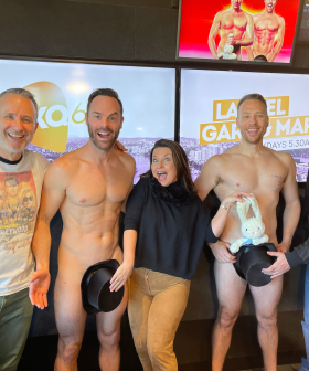 The Naked Magicians Join Laurel Gary and Mark in the Studio!