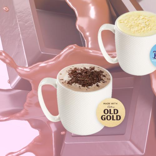 Gloria Jeans Have just Released A New Range Of Cadbury Flavoured Hot Chocolates!