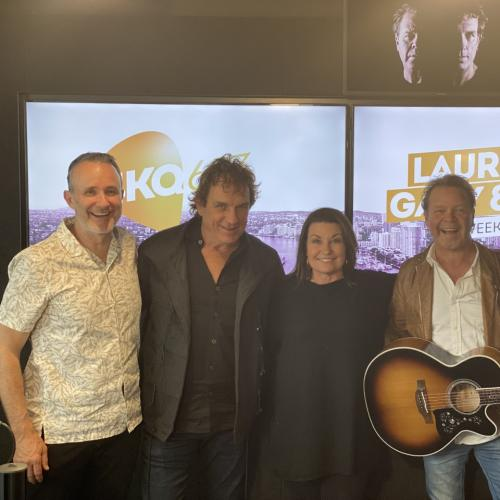 Troy Cassar-Daley & Ian Moss Join Us LIVE In-Studio!