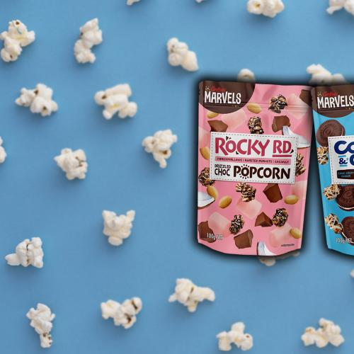 You Can Now Buy Rocky Road AND Cookies & Cream Chocolate Flavoured Popcorn!
