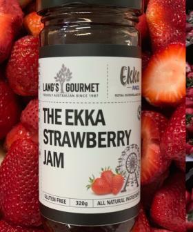 Mark Lang Reveals How He's Saving The Ekka Strawberries With Jam!