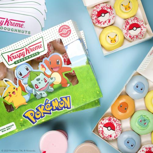Krispy Kreme Are Collaborating With Pokémon For Their 25th Anniversary!
