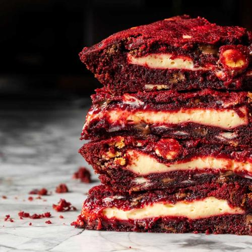 Messina's Bringing Back Their Red Velvet Cookie Pie...So, My Diet Is Cancelled Again!