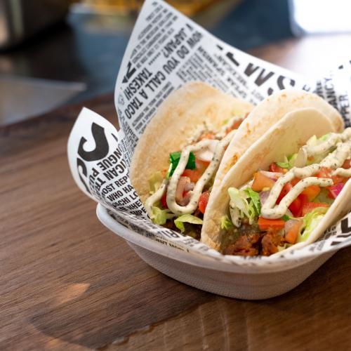 GYG Just Dropped A New Plant-Based Chimi Shredded Mushroom Taco & They Look Fantas-taco!