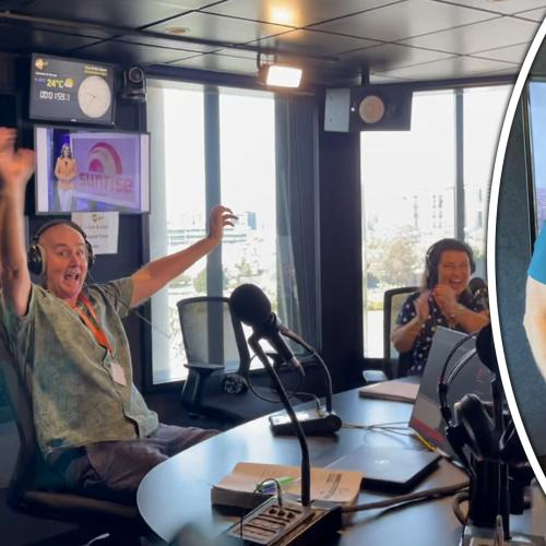 Channel 7's Bianca Stone Surprises Laurel, Gary & Mark LIVE In-Studio!