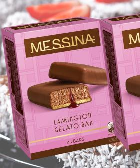 Messina Have Just Released An Aussie Inspired Lamington Flavoured Gelato Bar!